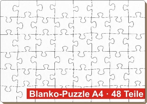 blanko puzzle din a4 3er pack puzzle net. Black Bedroom Furniture Sets. Home Design Ideas