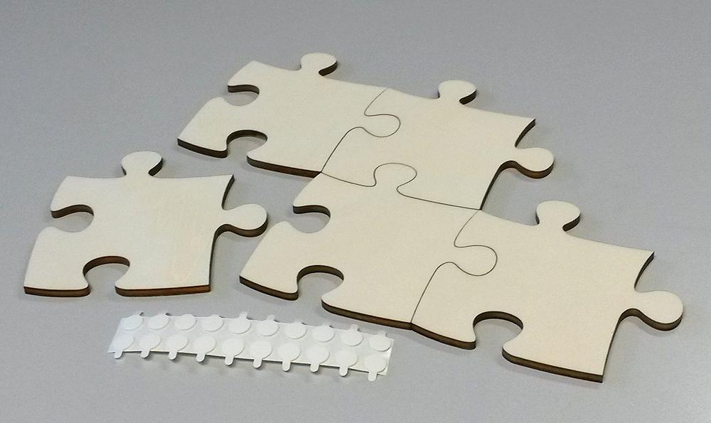 blanko holzpuzzle unendlich m 20 teile puzzle net. Black Bedroom Furniture Sets. Home Design Ideas