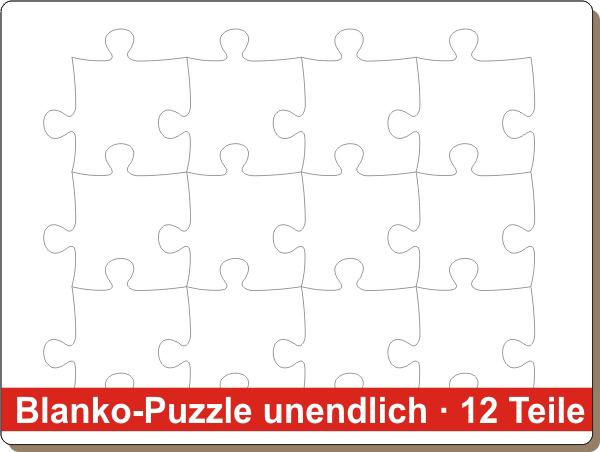 blanko puzzle unendlich puzzle net. Black Bedroom Furniture Sets. Home Design Ideas