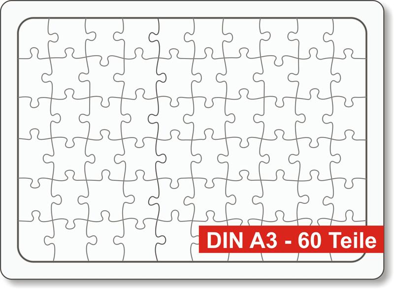 rahmen blanko puzzle din fast a3 3er pack puzzle net. Black Bedroom Furniture Sets. Home Design Ideas