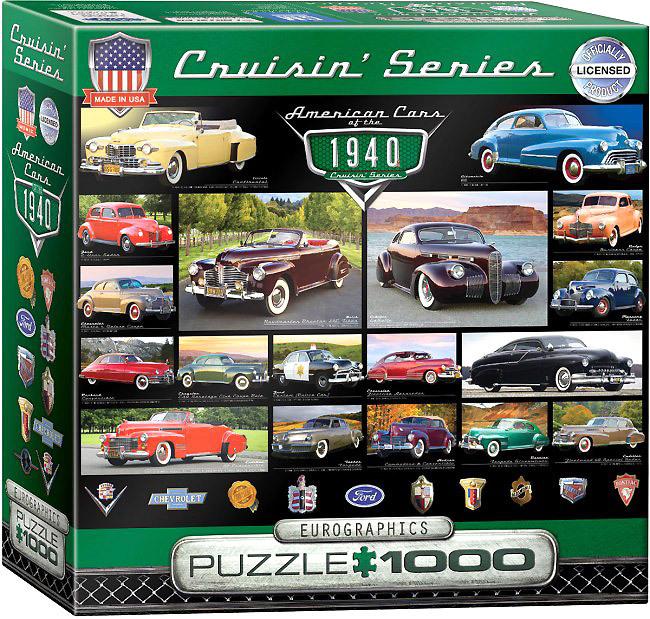 Puzzle Autos der 40er - Amerika - Puzzle-Net