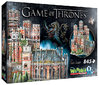 3D-Puzzle Game of Thrones - Roter Bergfried