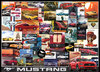 Puzzle Ford Mustang Collage